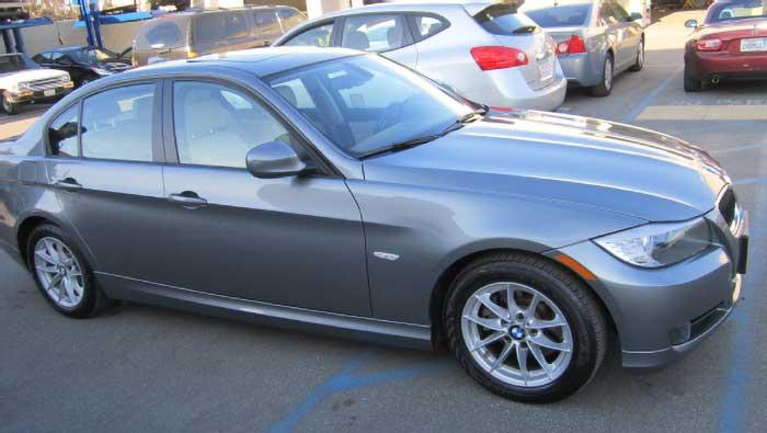 BMW 328i after