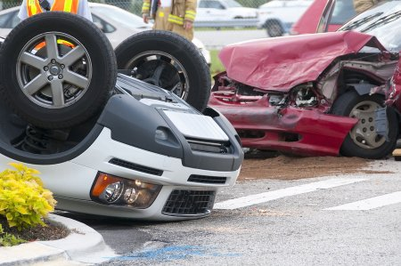 Rollover Accidents happen on the road