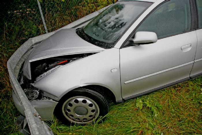 Car that needs repair
