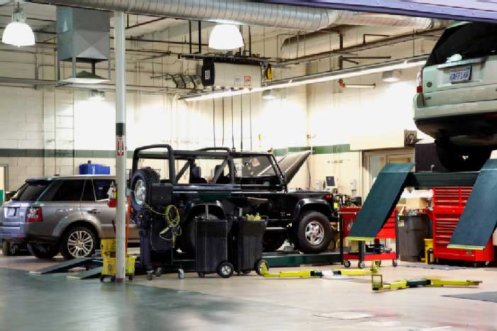 Automotive Garage Servicing SUV'S